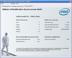 Intel Processor Identification Utility screen2