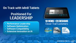 Intel Tablette Windows 8