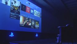 Interface PS4 - Gamescom