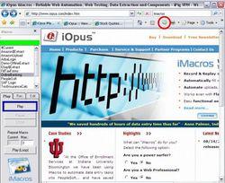 Internet Macros Web Test Recorder screen2