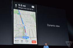 iOS 10 Maps navigation