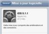 iOS 5.1.1 disponible :nouvelle version du système d'exploitation Apple