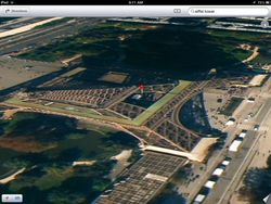 iOS 6 Maps deformation