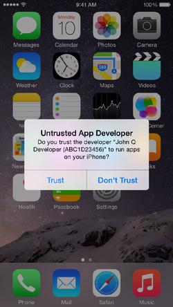 iOS-alerte-app
