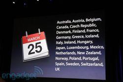 iPad 2 disponibilité