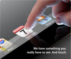 iPad 3 Apple invitation
