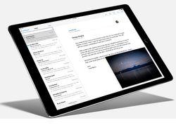 iPad Pro messagerie