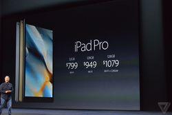 iPad Pro prix
