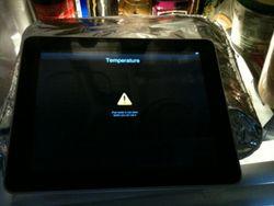 iPad surchauffe