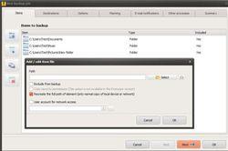 Iperius Backup Free screen2