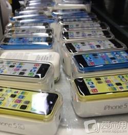 iPhone 5C couleur