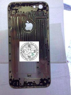 iPhone 6 dos metal