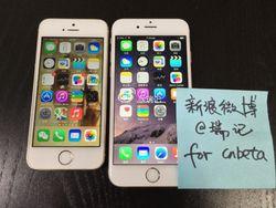 iPhone 6 fuite