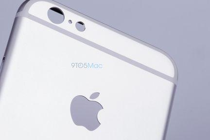 iPhone 6S photo capteur
