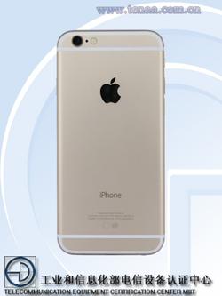 iPhone 6S TENAA