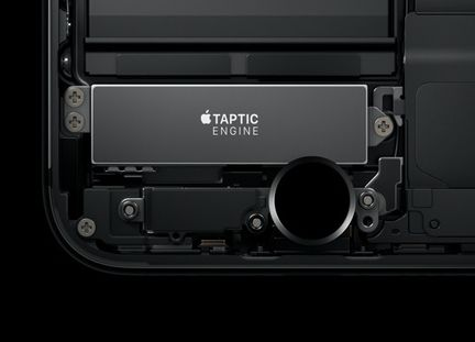 iPhone 7 bouton Home  taptic engine