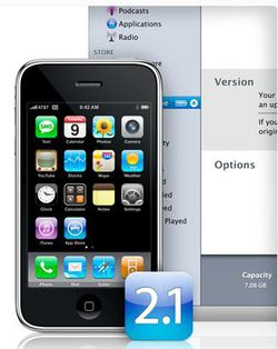 iPhone maj