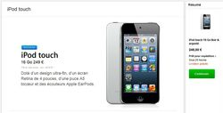 iPod touch low cost sans APN