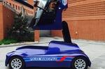 Iris Viséo : l'étonnant véhicule futuriste de la police