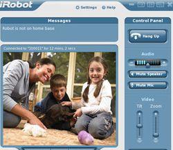 Irobot interface connectr