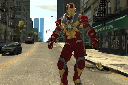 gta 4 comment avoir iron man