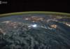 Des éclairs depuis la Station spatiale internationale