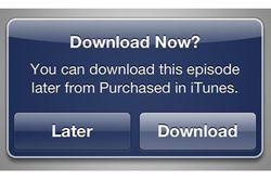 iTunes différé