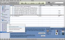 iTunes + iPod itunexport