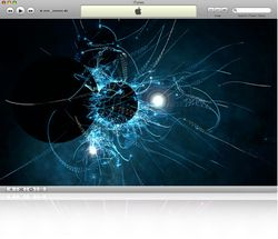iTunes visualisateur