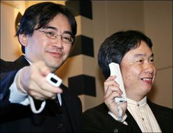 Iwata Satoru   Wii