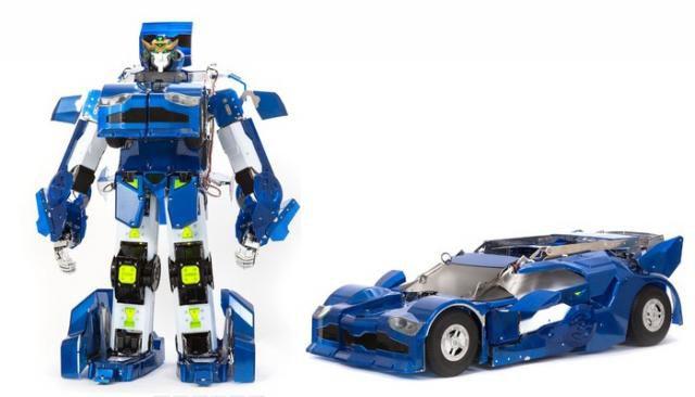 japon un robot capable de se transformer en voiture. Black Bedroom Furniture Sets. Home Design Ideas