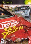 jaquette : Test Drive : Eve of Destruction