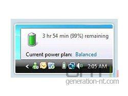 Jauge batterie