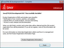 Java Development Kit screen1