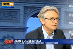 Jean claude mailly FO