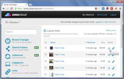 JottaCloud screen1