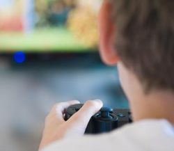 Joueur jeux video