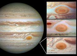 Jupiter red spot