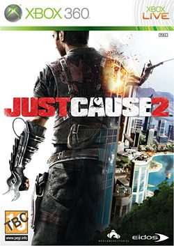Just Cause 2 - Jaquette