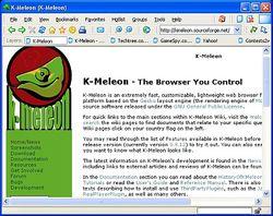 K-Meleon screen1