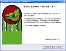 K-Meleon screen2