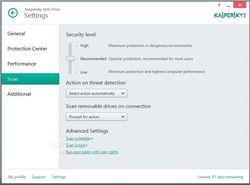 Kaspersky Internet Security 2015 screen1