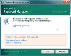 Kaspersky Password Manager screen2