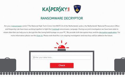 Kaspersky ransomeware