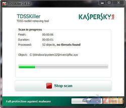 Kaspersky TDSSKiller screen1