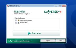 Kaspersky TDSSKiller screen2
