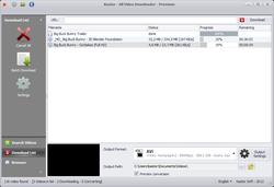 Kastor All Video Downloader screen