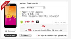 Kazam Trooper 650L