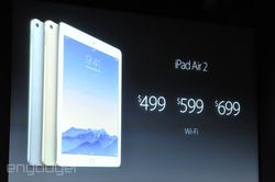 keynote Apple iPad Air 2 prix
