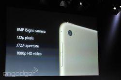 keynote Apple iSight